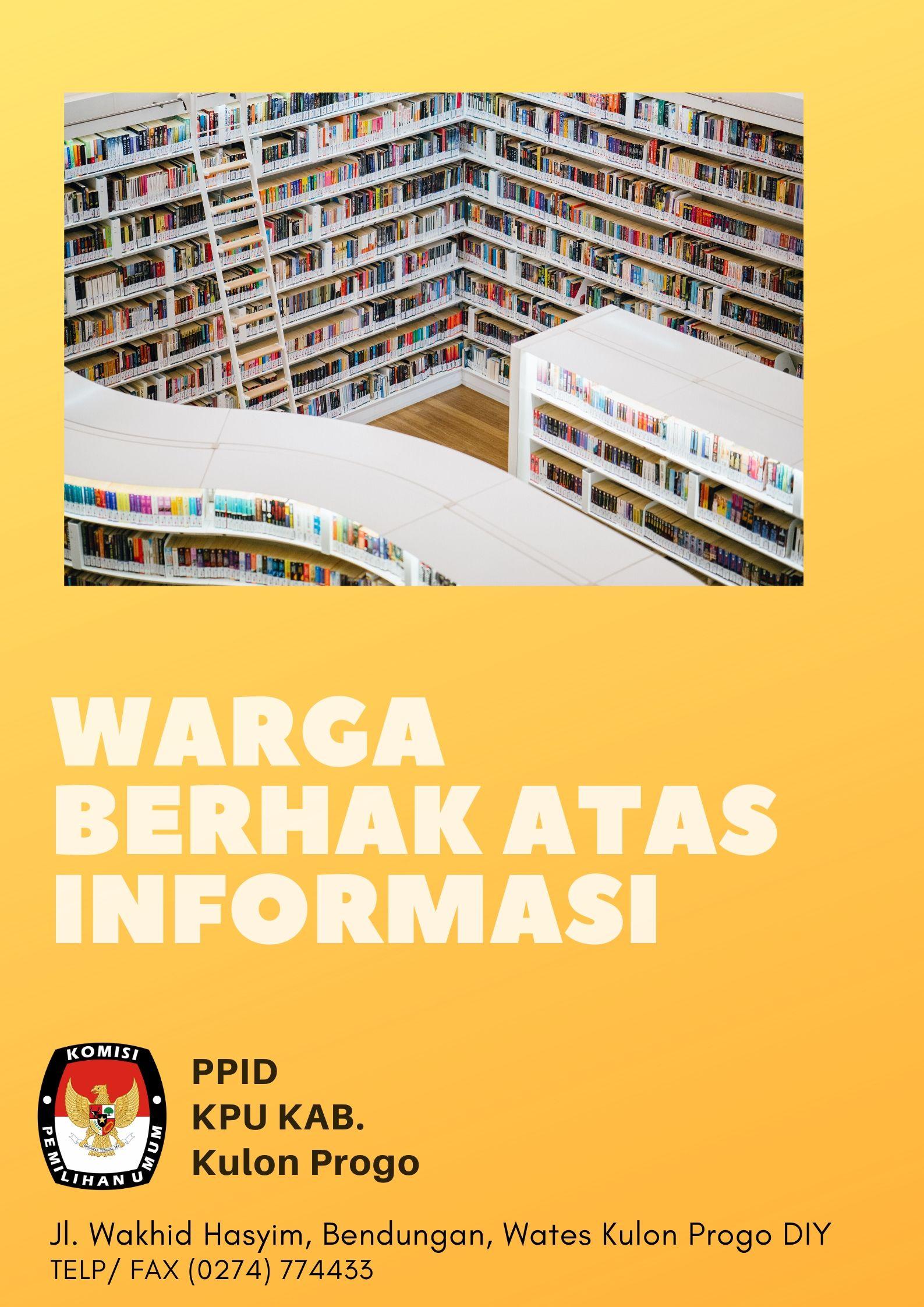 HAK PUBLIK ATAS INFORMASI