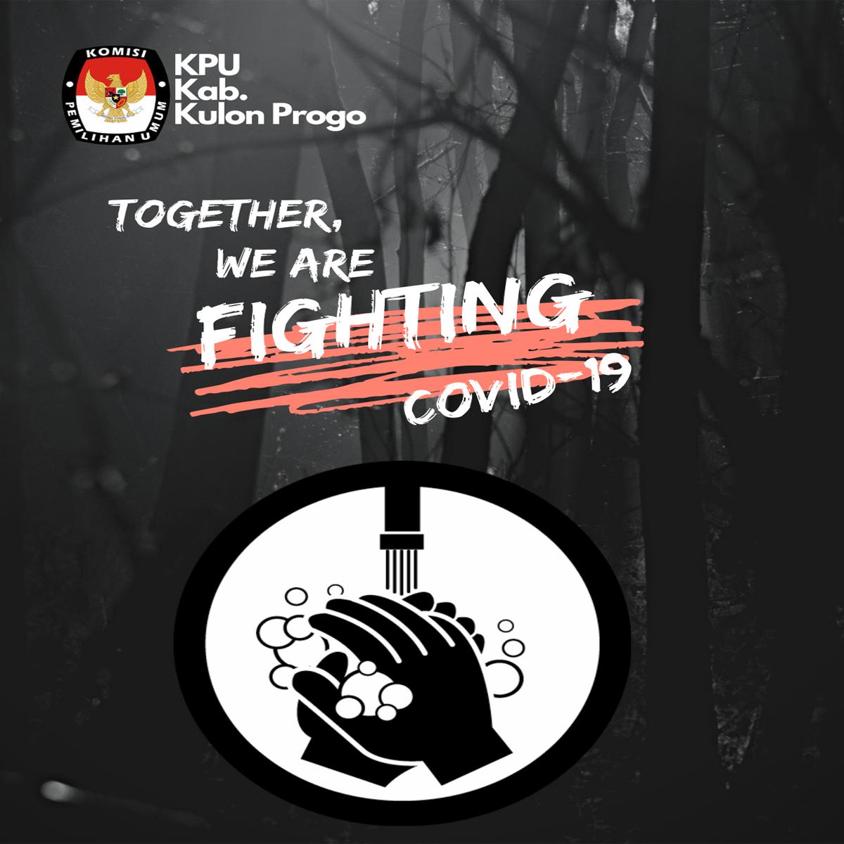 Antisipasi Covid19 di Lingkungan KPU Kulon Progo