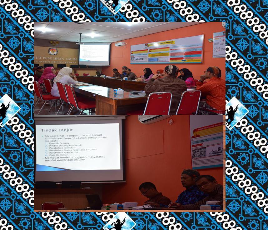 Pembahasan Rencana Kegiatan Mutarlih Berkelanjutan Di Kabupaten Kulon Progo